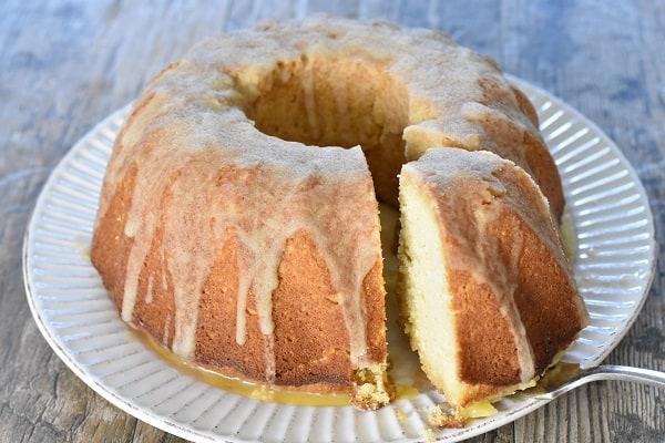 Keto Rum Cake { Gluten Free }