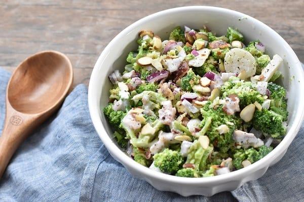 Keto Broccoli Salad With Bacon