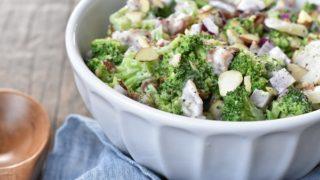Broccoli Salad With Bacon { Low Carb | Keto | GF }