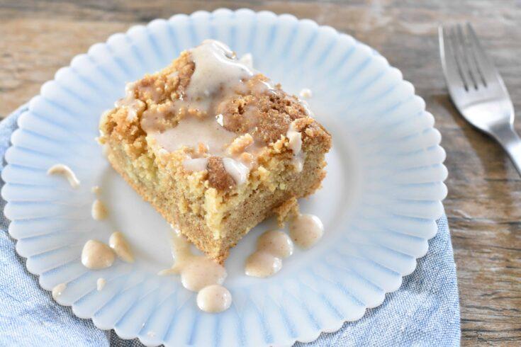 Keto Almond Paleo Coffee Cake
