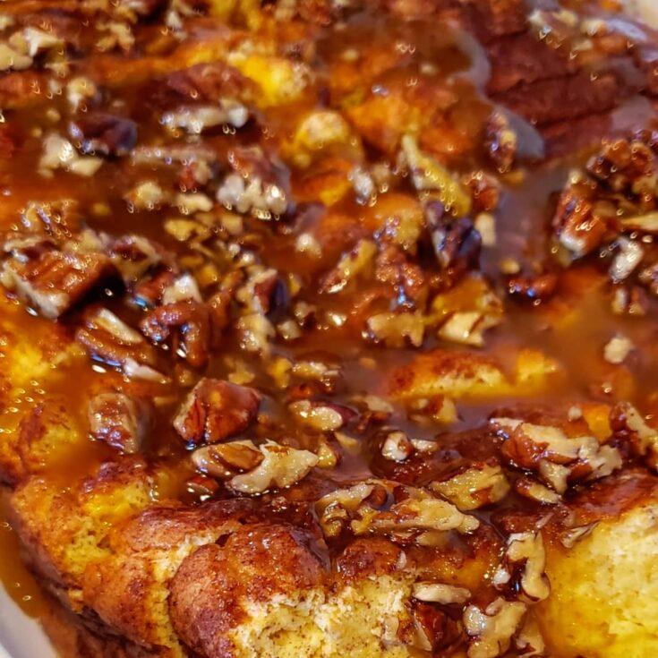 Keto Overnight French Toast Casserole