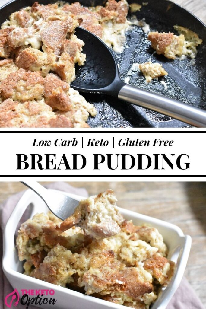 Keto Bread Pudding