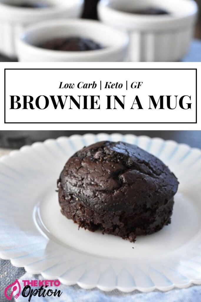 Keto Brownie In A Mug