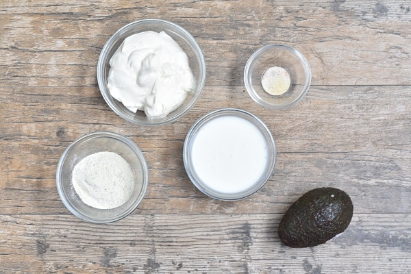 Keto Avocado Ranch
