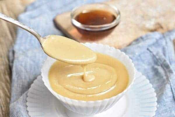 Keto Caramel Sauce { Gluten Free }