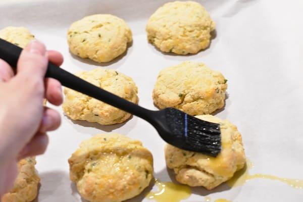Keto Drop Biscuits