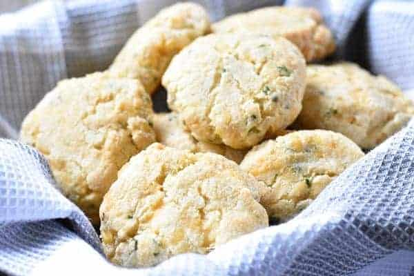 Keto Drop Biscuits { Low Carb | Gluten Free }