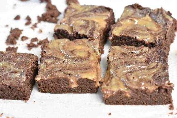 Keto Caramel Brownies