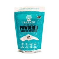 Lakanto Monkfruit Sweetener, 2:1 Powdered Sugar Substitute, Keto, Non-GMO (1 lb)