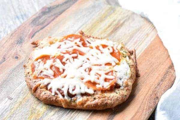 Keto Single Serve Pizza