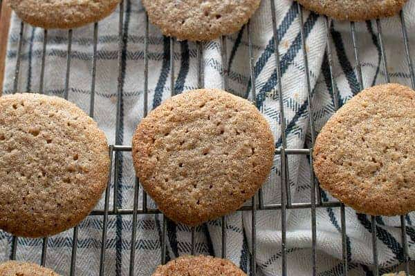Gluten Free Oatmeal Spice Cookies { Low Carb }