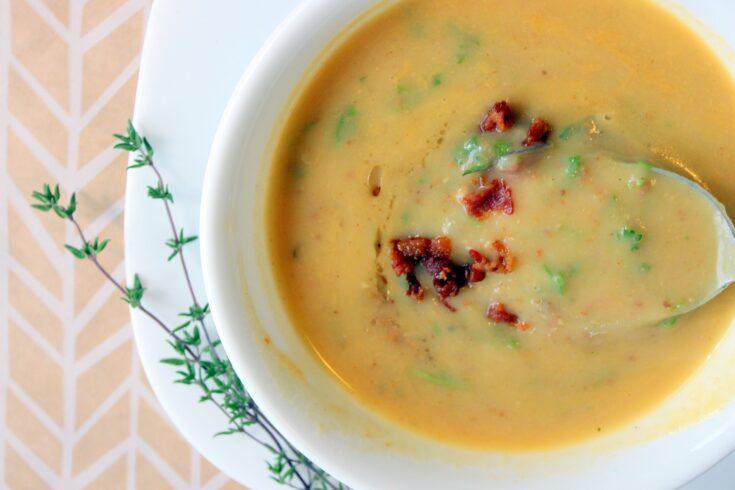 Smoky Bacon Potato Soup