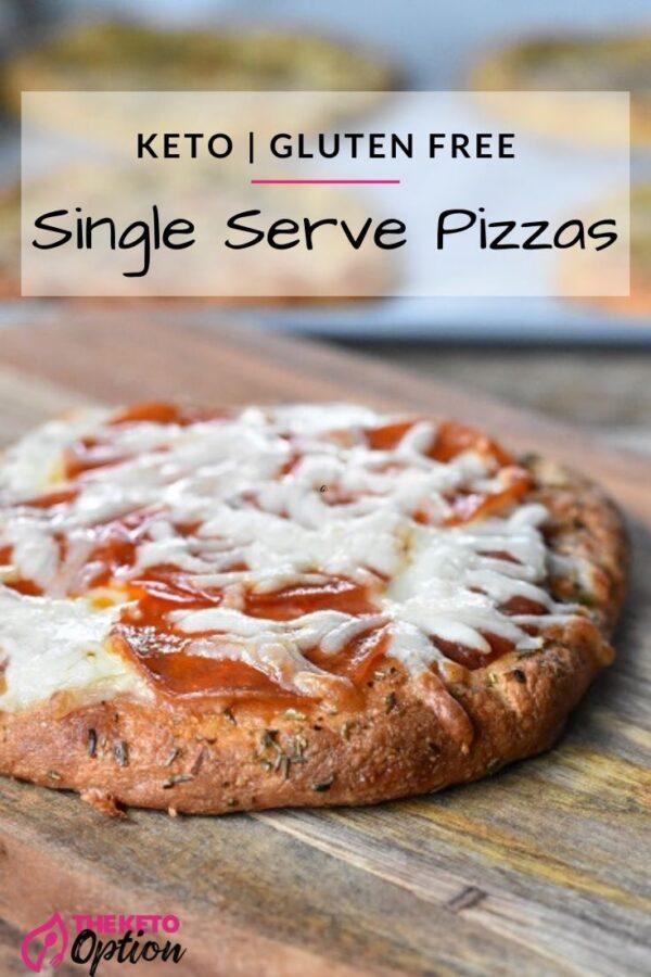 Keto Single Serve Pizzas