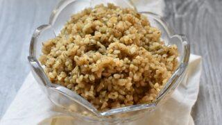 Brown Yum Yum Rice { Gluten Free }