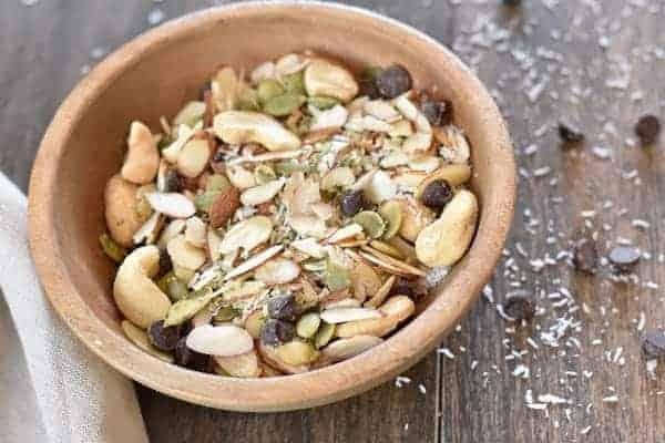 Healthy Paleo Snack Mix