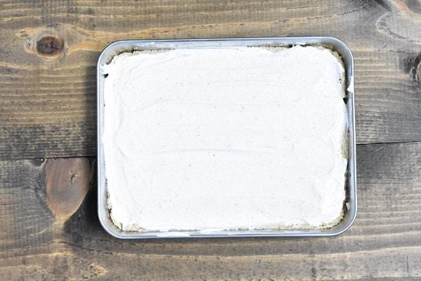 Keto 7 Layer Dip Sour Cream Layer