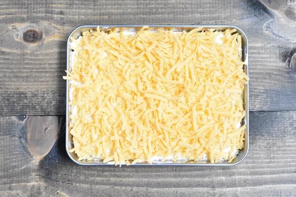 Keto 7 Layer Dip Cheese Layer