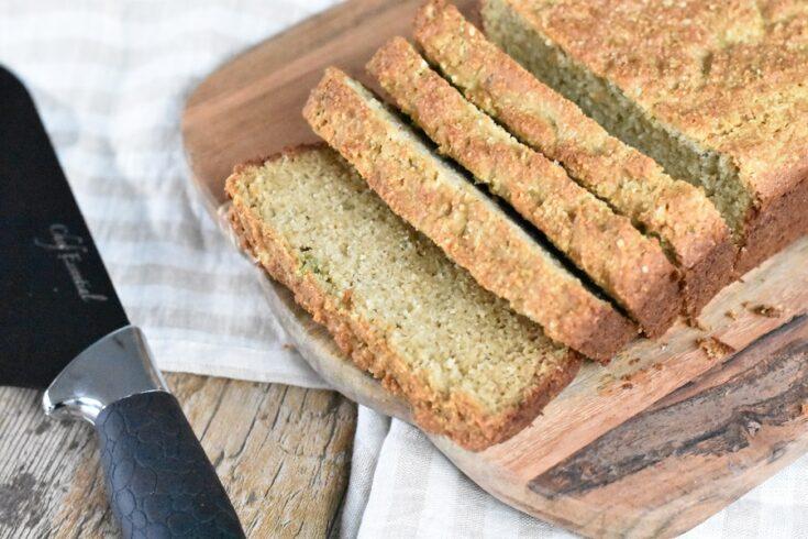 Paleo Hemp Bread (Low Carb)