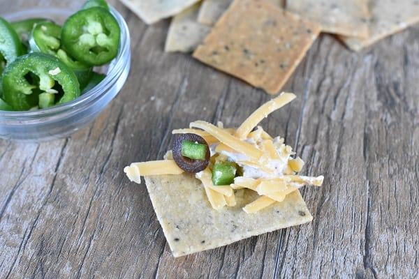 Chip with Keto 7 Layer Dip
