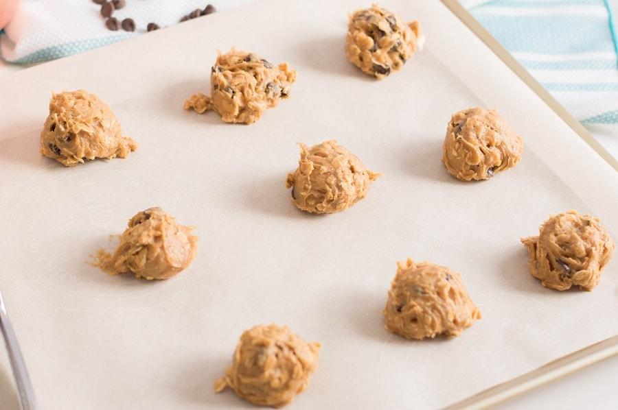 Gluten Free Peanut Butter Oatmeal Cookies Dough