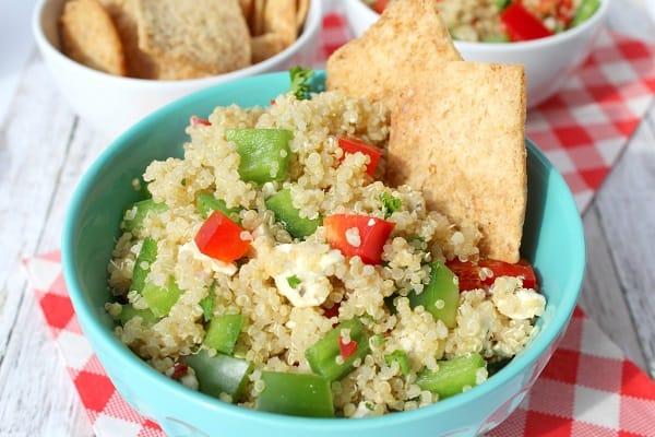 Greek Quinoa Salad with Feta