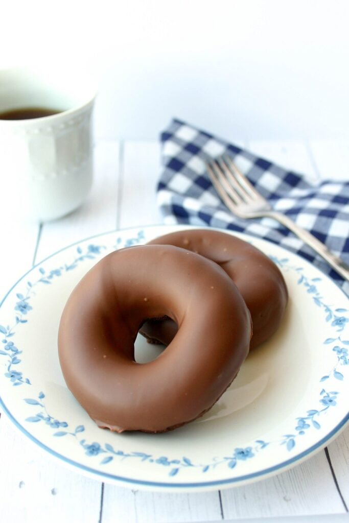 Keto Double Chocolate Donuts