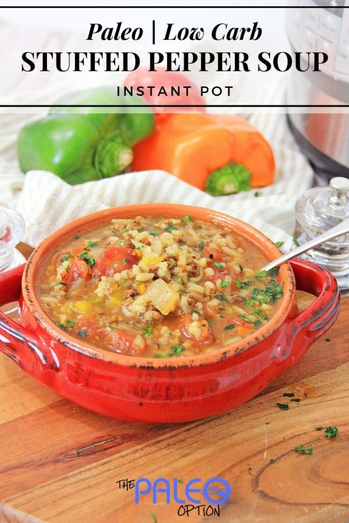 nstant Pot Stuffed Pepper Soup