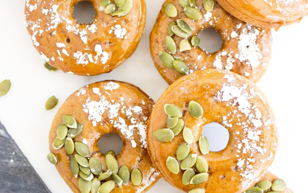 Low Carb Gluten Free Pumpkin Spice Donuts