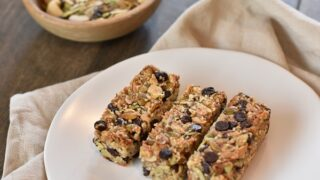 Chocolate Chip Granola Bars { Low Carb | Keto | GF }