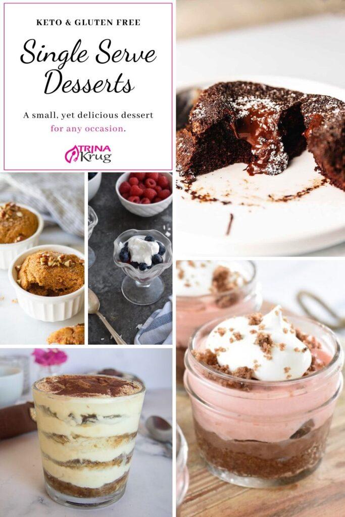 Single Serve Desserts