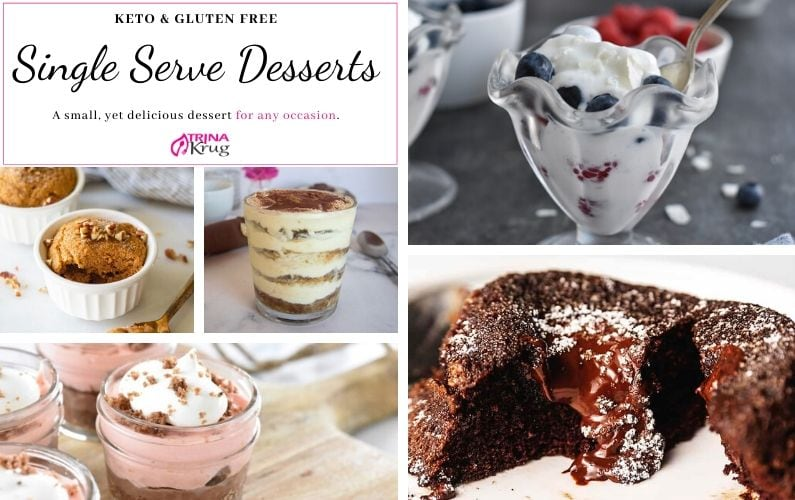 Keto Single Serve Desserts