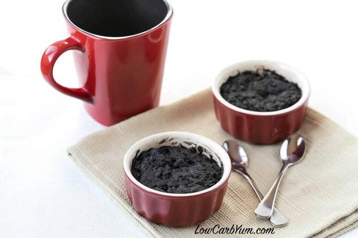 One Minute Chocolate Brownie Mug Cake