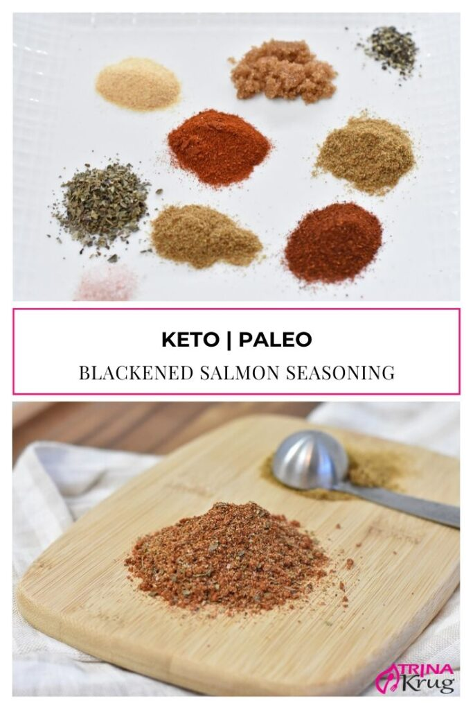 Blackened Salmon Seasoning (Keto, Paleo)