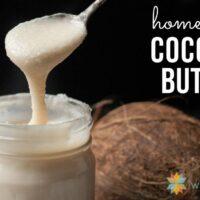 Homemade Coconut Butter