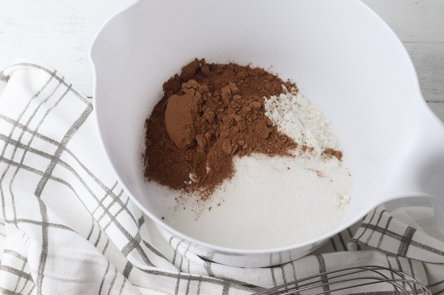 Gluten Free Mint Chocolate Donuts Ingredients