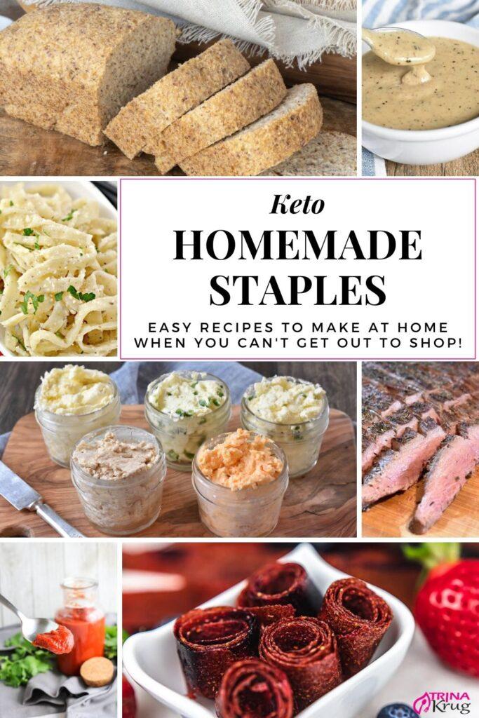 Keto Homemade Staples
