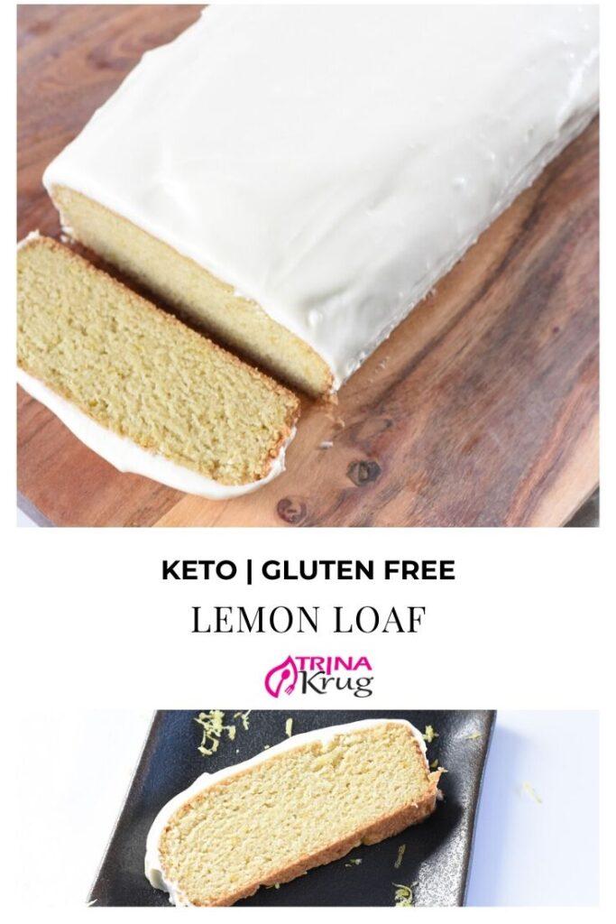 Keto Lemon Loaf