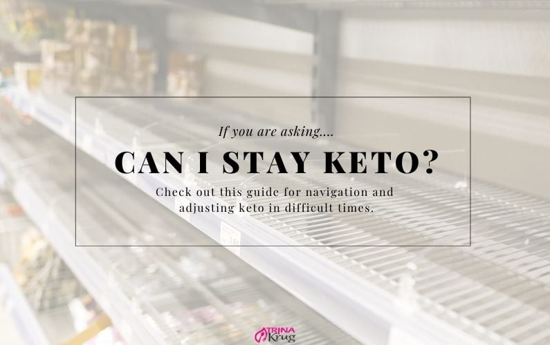 Should I Stay Keto in Difficult Times?