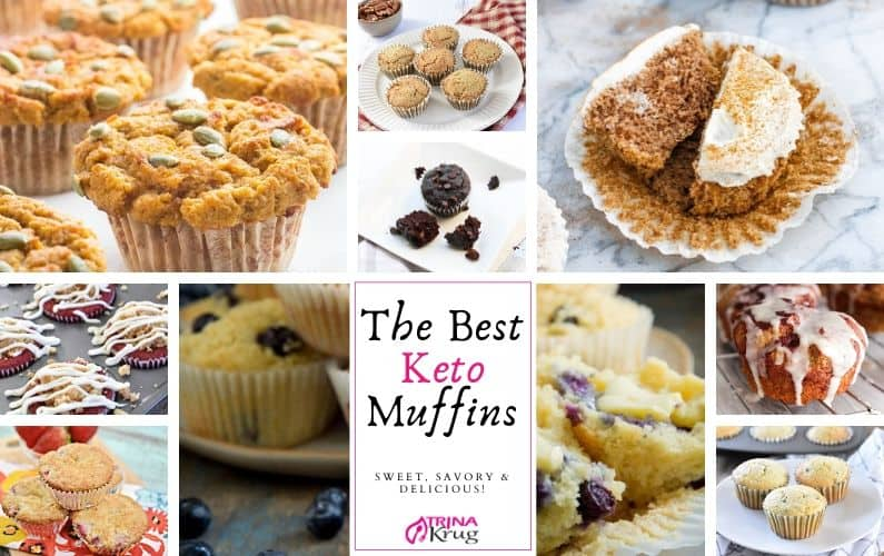 The Best Keto Muffins